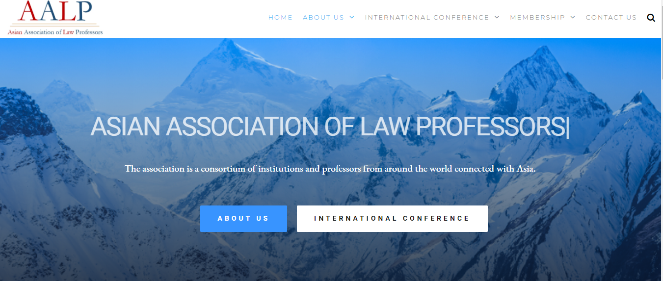 Asian Association of Law Proffesors